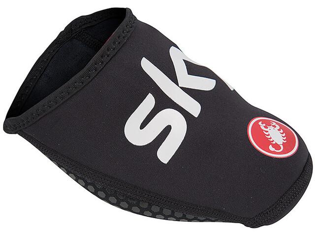 Castelli Team Sky Toe Thingy 2 Skoovertræk Herrer sort (2019) | shoecovers_clothes